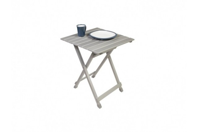 Table alu 50x50 kampa latour tentes mat riel de camping for Table 50x50
