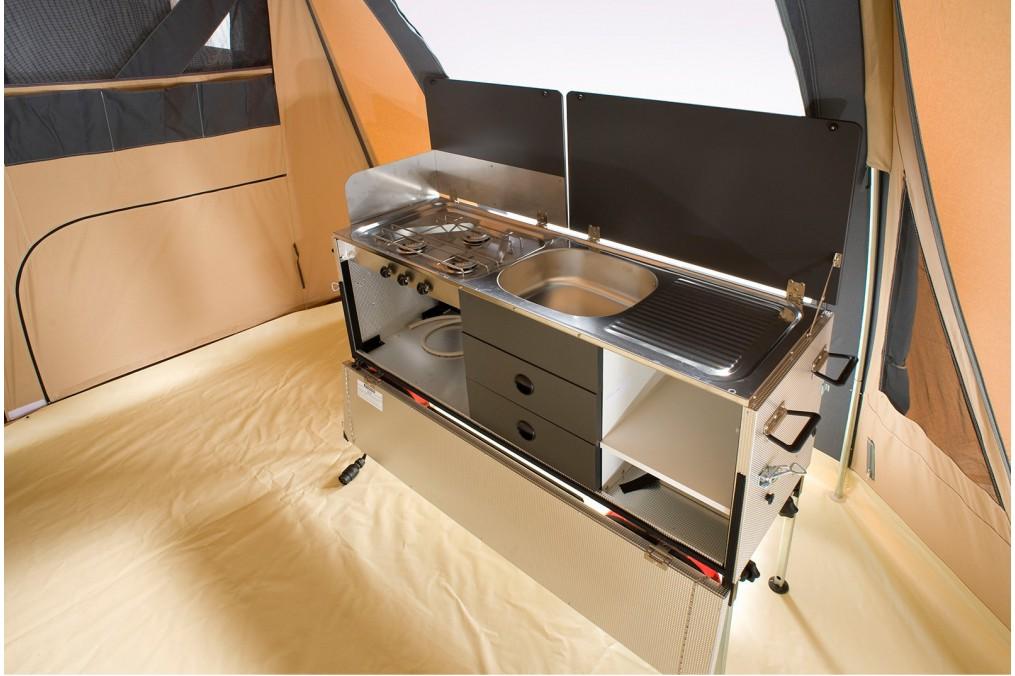 Caravane pliante manga cabanon - Meuble cuisine caravane ...