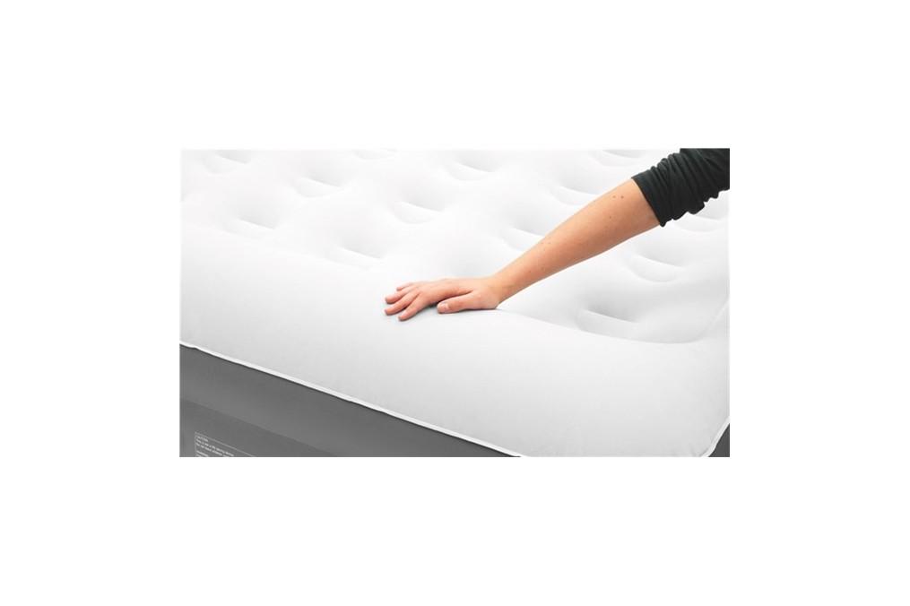 matelas gonflable 2 personnes avec pompe int gr e. Black Bedroom Furniture Sets. Home Design Ideas