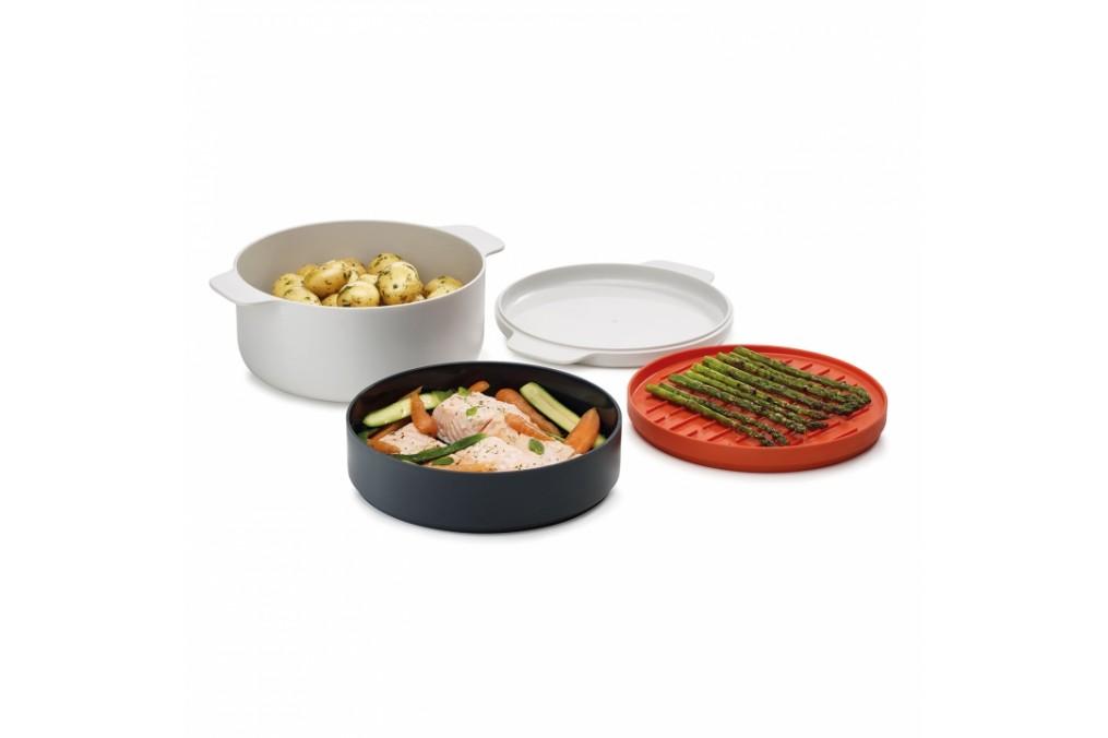Set de cuisson pour micro ondes m cuisine joseph for Soldes materiel cuisine