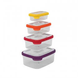 Set de 4 boîtes Nest Storage multicolore JOSEPH