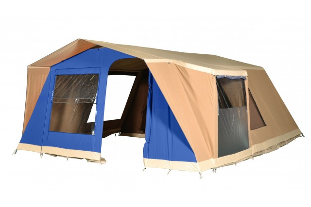 tente aruba bleu cabanon latour tentes mat riel de camping. Black Bedroom Furniture Sets. Home Design Ideas