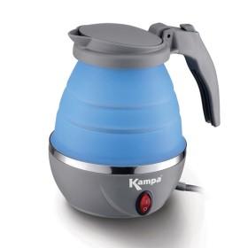 Bouilloire pliante électrique 1L bleue Kampa
