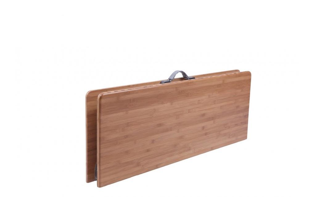 table pliante en bamboo camping defa grand mod le. Black Bedroom Furniture Sets. Home Design Ideas