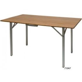 table pliante plateau plein bambou Defa