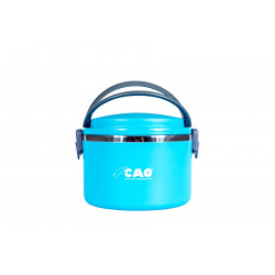 Lunch box isotherme RONDE 1 litre Bleu CAO