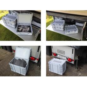 Boite de rangement pour caravane pliante CAMPOOZ