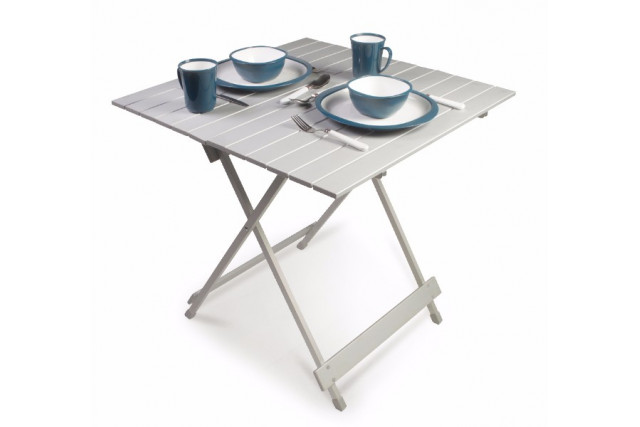 Table aluminium pliante 70x70 Kampa
