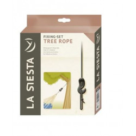 Fixation entres arbres pour hamac Tree Rope LA SIESTA