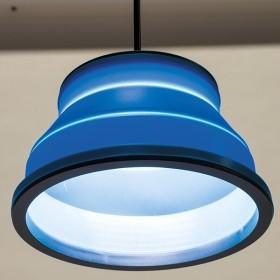 Lampe Rétractable 450 Lumens Bleu Kampa
