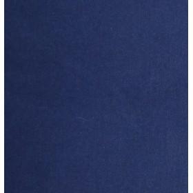 Toile coton mur bleu marine Cabanon