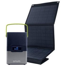 Station d'énergie solaire portative IZYWATT 250 + panneau solaire 50 W - ORIUM