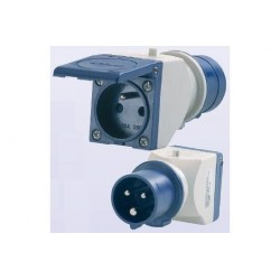 Prise Adaptateur Femelle Standard + CEE17